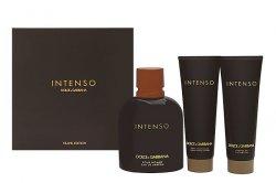 Dolce & Gabbana Intenso Pour Homme - EDP 125 ml + balzám po holení 50 ml + sprchový gel 50 ml