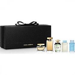 Dolce & Gabbana Kolekce miniatur - EDT 7,5 ml + EDP 2 x 5 ml + EDT 4,5 ml + EDP 4,5 ml