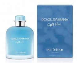 Dolce & Gabbana Light Blue Eau Intense Pour Homme - EDP - SLEVA - poškozený celofán 200 ml