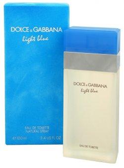 Dolce & Gabbana Light Blue - EDT - SLEVA - bez celofánu, chybí cca 2 ml 100 ml