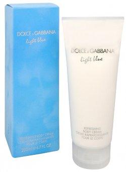 Dolce & Gabbana Light Blue tělový krém 200 ml