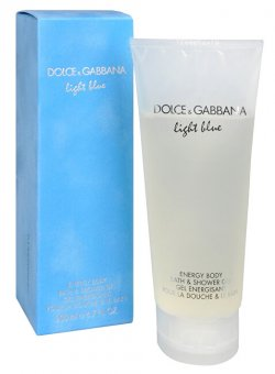 Dolce & Gabbana Light Blue sprchový gel 200 ml