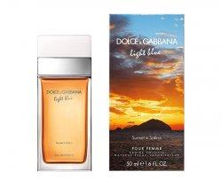 Dolce & Gabbana Light Blue Sunset In Salina - EDT - SLEVA - bez celofánu, chybí cca 1 ml 100 ml