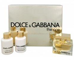 Dolce & Gabbana The One - EDP 75 ml + tělové mléko 100 ml + sprchový gel 100 ml