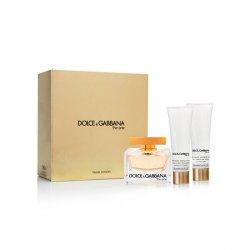 Dolce & Gabbana The One - EDP 75 ml + tělové mléko 50 ml + sprchový gel 50 ml