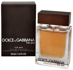 Dolce & Gabbana The One For Men - EDT - SLEVA - bez celofánu, chybí cca 2 ml 100 ml