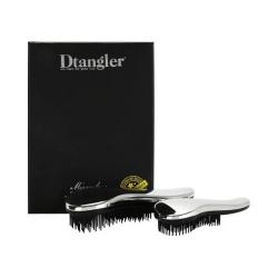 Dtangler Dárková sada kartáčů na vlasy Miraculous Silver - SLEVA - poškozený obal