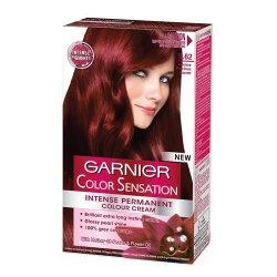 Garnier Přírodní šetrná barva Color Sensation - SLEVA - poškozená krabička 5.62 Granátově červená