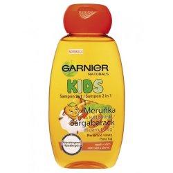 Garnier Šampon s vůní meruňky 2 v 1 Natural Kids 250 ml