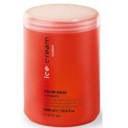 Inebrya Maska pro barvené vlasy Ice Cream Color (Color Mask) 500 ml - SLEVA - chybí etiketa