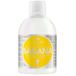 Kallos Posilující šampon s extrakty z banánu (Banana Fortifying Shampoo with Multivitamin Complex) 1000 ml - SLEVA - poškozená etiketa