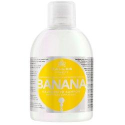 Kallos Posilující šampon s extrakty z banánu (Banana Fortifying Shampoo with Multivitamin Complex) 1000 ml