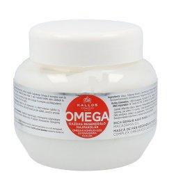 Kallos Regenerační maska na vlasy s omega-6 komplexem a makadamia olejem (Omega Hair Mask) 1000 ml