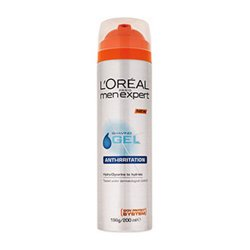 L´Oréal Paris Gel na holení pro citlivou pleť (Shave Gel Anti-Irritation) 200 ml - SLEVA - promáčklý plech
