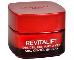 L´Oréal Paris Zpevňující protivráskový krém na obličej a krk Revitalift 50 ml