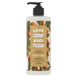 Love Beauty and Planet Sprchový gel s bambuckým máslem a santalovým dřevem (Majestic Moisture Shower Gel) 100 ml