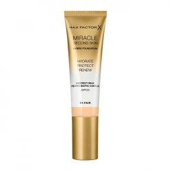 Max Factor Pečující make-up pro přirozený vzhled pleti Miracle Touch Second Skin SPF 20 (Hybrid Foundation) 30 ml 03 Light
