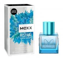 Mexx Festival Splashes For Men - EDT 30 ml