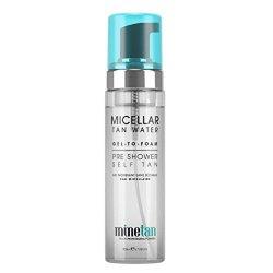 Minetan Micelární voda se samoopalovacím účinkem (Micellar Tan Water Pre Shower Self Tan) 200 ml