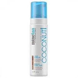Minetan Samoopalovací pěna pro tmavé opálení Coconut 200 ml - SLEVA - ušpiněný obal