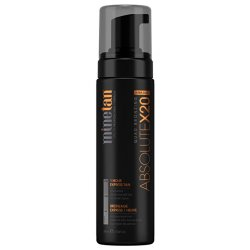 Minetan Samoopalovací pěna pro ultra tmavé opálení Absolute X20 (Quad Bronzing 1 Hour Express Tan) 200 ml