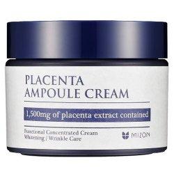 Mizon Pleťový krém s obsahem 1500 mg Placenty (Placenta Ampoule Cream) 50 ml - SLEVA - poškozená krabička