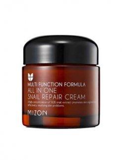 Mizon Regenerační pleťový krém s filtrátem hlemýždího sekretu 92% (All In One Snail Repair Cream) - SLEVA - poškozená krabička