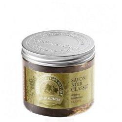 Organique Přírodní černé mýdlo Savon Noir (Cleansing & Softening) 200 ml