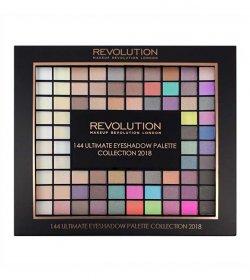 Revolution Paletka 144 očních stínů (Ultimate Eye Shadow Palette Collection 2018) 116 g - SLEVA - poškozený obal