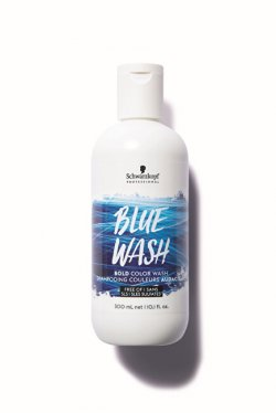 Schwarzkopf Professional Intenzivní barvicí šampon Bold Color Wash Blue 300 ml