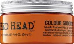 Tigi Obnovující maska na barvené vlasy Bed Head Colour Goddess (Miracle Treatment Mask) 200 g - SLEVA - poškozené víčko