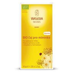Weleda BIO čaj pro spokojené bříško miminek 30 g