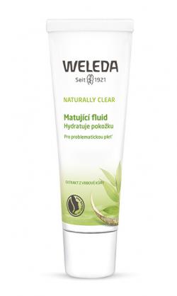 Weleda Matující fluid na problematickou pleť Naturally Clear 30 ml