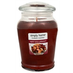 Yankee Candle Aromatická svíčka Apple Spice Potpourri 538 g