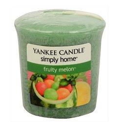 Yankee Candle Aromatická votivní svíčka Fruity Melon 49 g