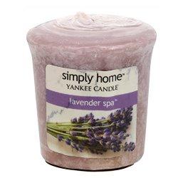 Yankee Candle Aromatická votivní svíčka Lavender Spa 49 g
