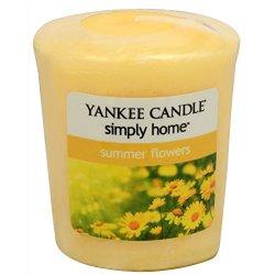 Yankee Candle Aromatická votivní svíčka Summer Flowers 49 g