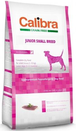 Expirováno Calibra Dog HA Junior Small Breed Chicken 2kg 3.6.2019 + 30 dní na vyzkoušení