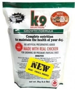 Expirováno K-9 Growth Small Breed 3 kg31.5.2019 + 30 dní na vyzkoušení