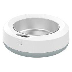 Reedog malá digitální miska s váhou - Bílo + šedá